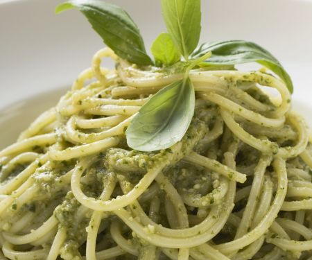 Pasta mit Pesto alla genovese