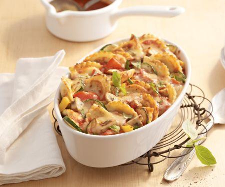 """Pfannen Pasta-Gemüse-Gratin """"Ratatouille"""""""