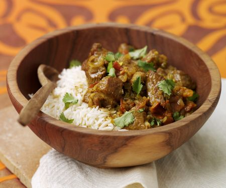 Pikantes Curry mit Lamm