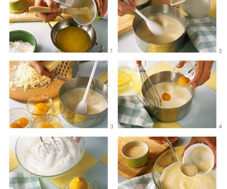 Pikantes Soffle mit Käse