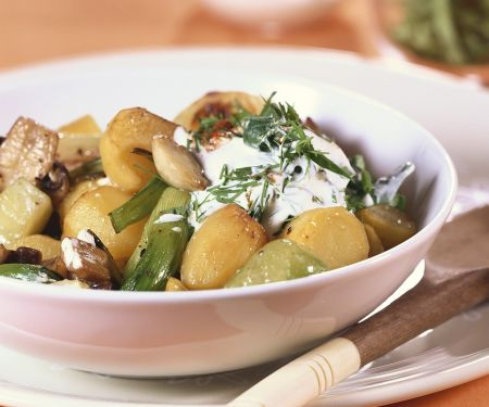 Pilz-Kartoffel-Eintopf
