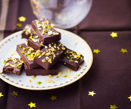 Pistazienschokolade