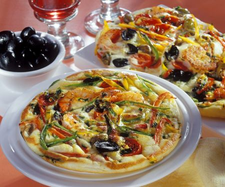 Polenta-Gemüse-Omelett