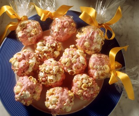 Popcorn-Schokobällchen