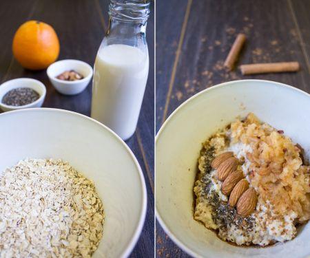 Porridge mit Winterobst