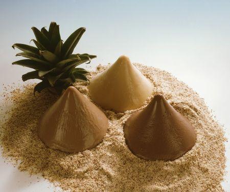 Pudding-Wüstenlandschaft