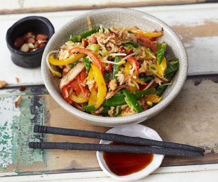Reis-Gemüsewok