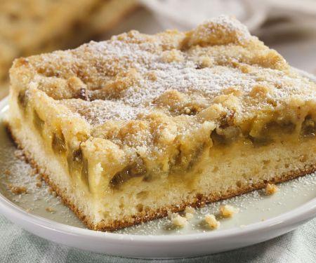 Rhabarber-Mandel-Kuchen
