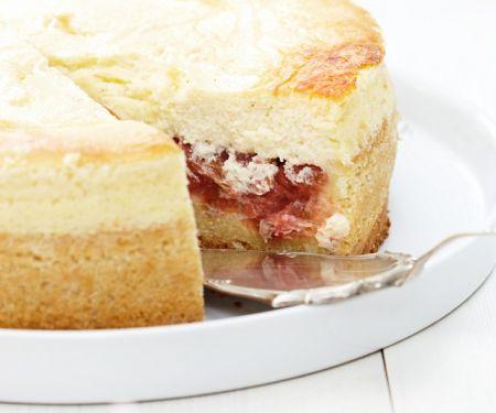 Rhabarber-Quarkkuchen