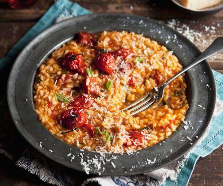 Risotto mit Tomaten und Parmesan