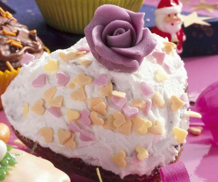 Romantischer Muffin