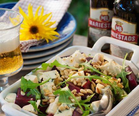 Rote Bete Salat mit Käse