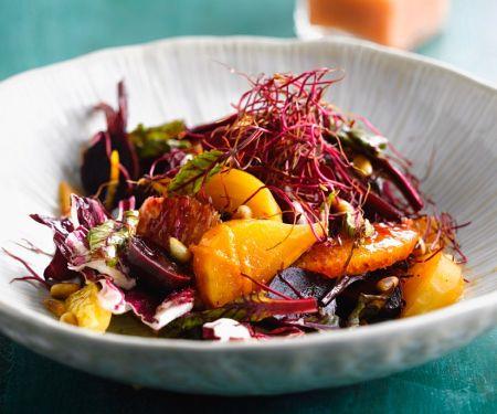 Rote-Bete-Salat mit Orangen und Radicchio