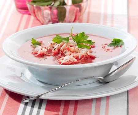 Rote-Bete-Sauerkraut-Suppe