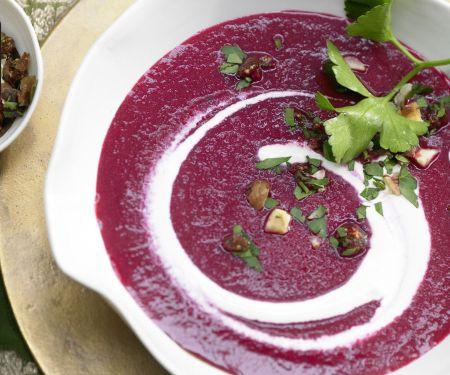 Rote-Bete-Suppe mit Lebkuchengewürz für den Thermomix®