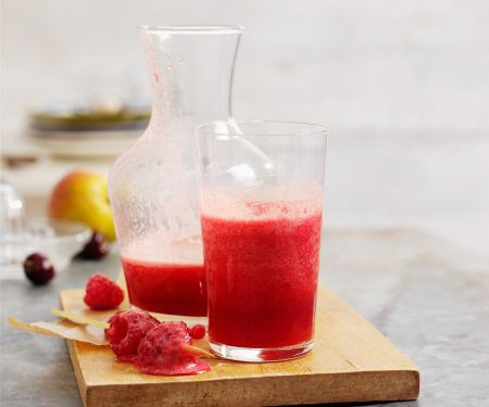 Roter Fruchtsaft