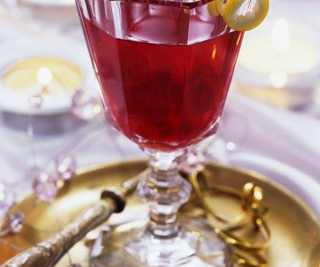 Rotwein-Kirschpunsch