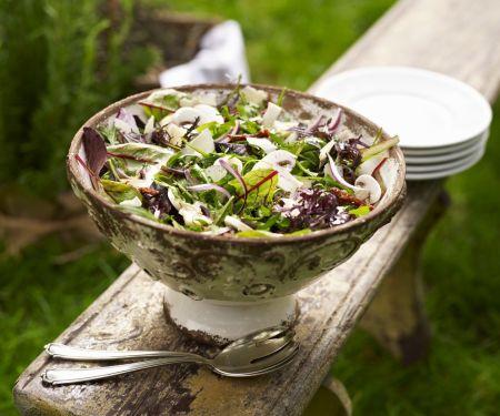 Rucola-Champignon-Salat