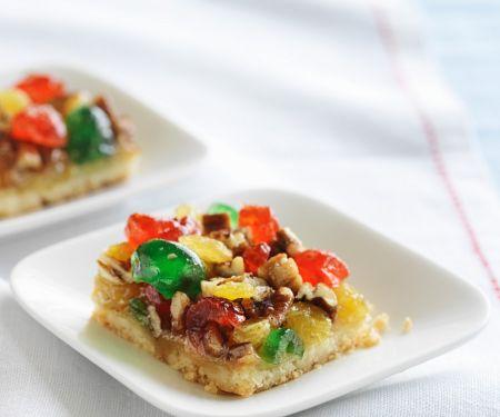 Rührkuchen mit Früchten