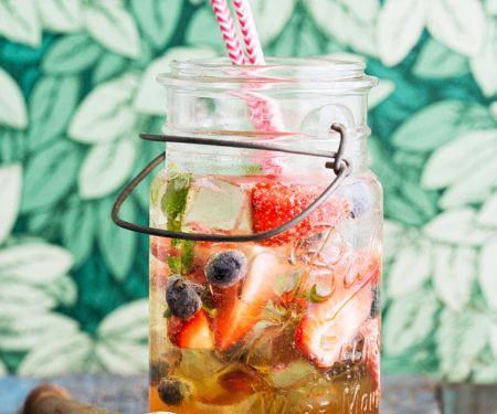 Rum-Früchteeistee
