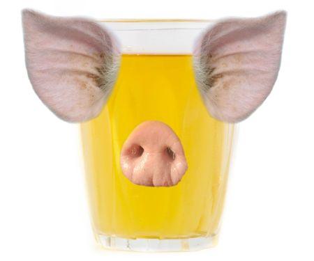 Saft vegan - Schweinegelatine
