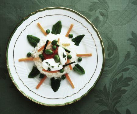 Saisonales Gemüse-Risotto