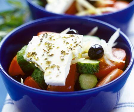 Salat auf griechische Art