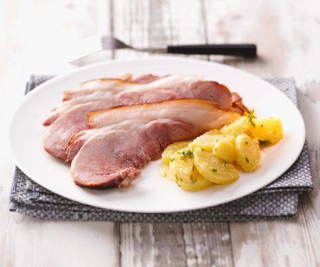 Schäufele mit Kartoffelsalat