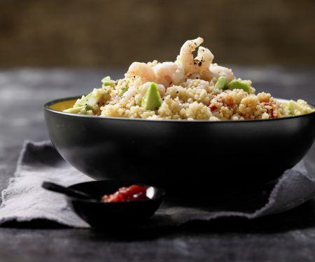 Scharfer Couscous-Salat