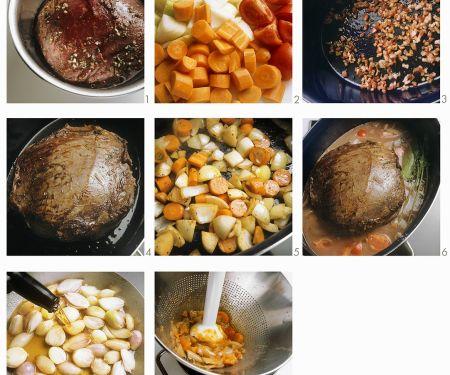 Schmorbraten zubereiten