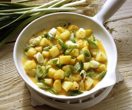 Schnelle Kartoffel-Eier-Pfanne