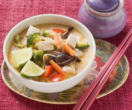 Schnelle Thaisuppe