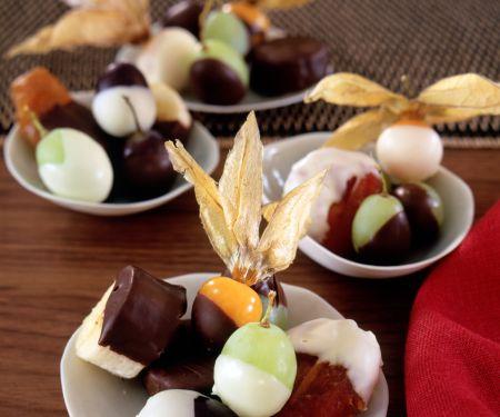 Schoko-Früchte
