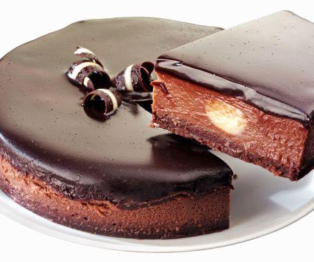 Schoko-Käsekuchen-Torte