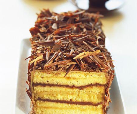 Schoko-Marzipankuchen