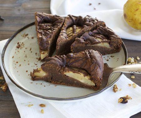 Schokoladen-Birnenkuchen