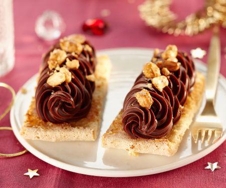 Schokoladenbiskuits