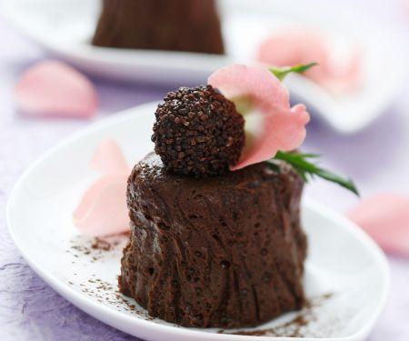 Schokoladencreme mit Praline