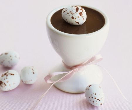Schokoladencreme zu Ostern