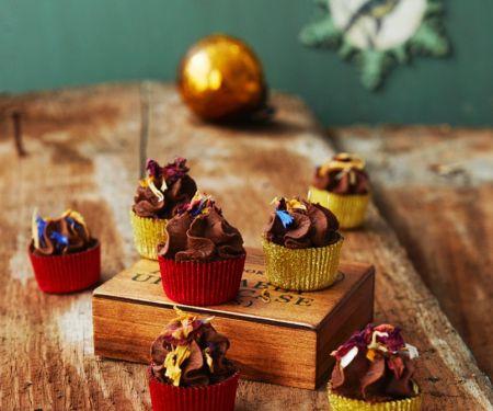 Schokoladenpralinen mit Salbei