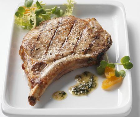 Schweinekotelett vom Grill