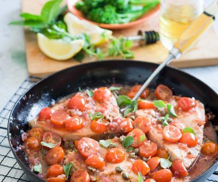 Schwertfisch mit Tomatensauce