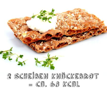 Knäckebrot - Snacks unter 150 kalorien