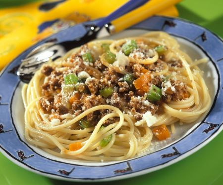 Spaghetti Bolognese einfach
