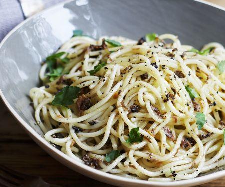 Spaghetti mit Trüffelpaste