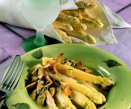 Spargel-Pilz-Gemüse