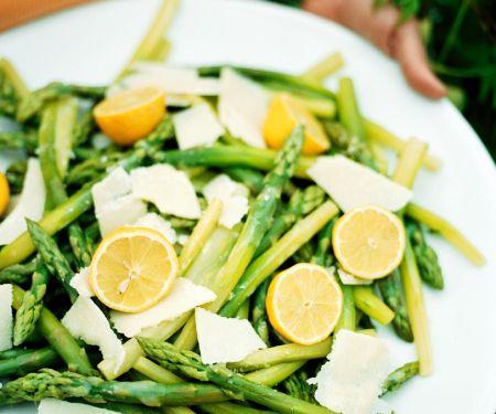 Spargelsalat mit Zitrone