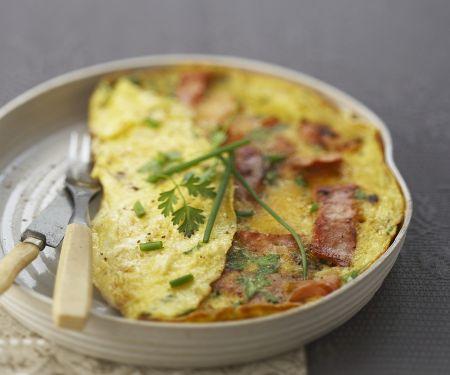 Speck-Omelett
