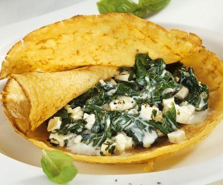 Spinat-Pfannkuchen