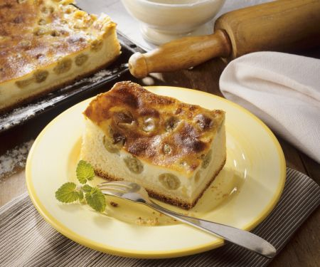 Stachelbeer-Schmand-Kuchen